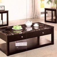 3-PCS Coffee Table set 124
