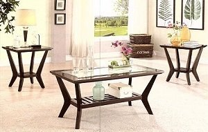 Lavish Elegant Coffee Table Set