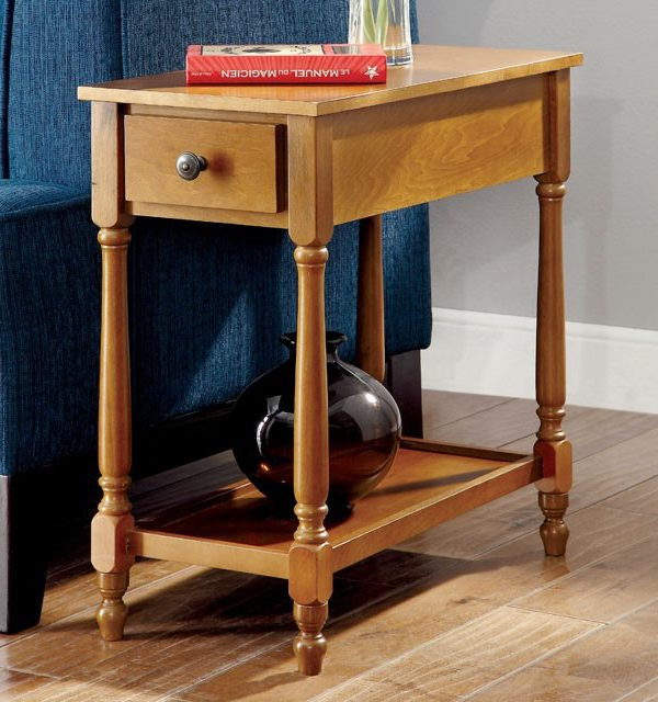 Transitional Side Table