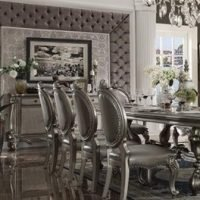 Silver Dining Table Set 2