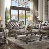 Silver Sofa set 1