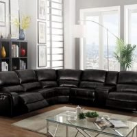 Black Sectioanl Sofa
